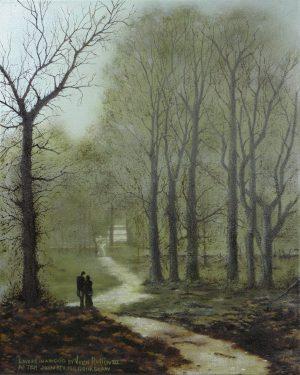 Lovers In A Wood By Vern Rollin III