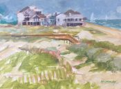 Beach Houses By Ed Crumley