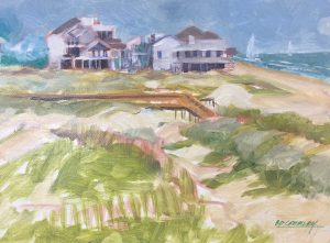 Beach Houses By Ed Crumley