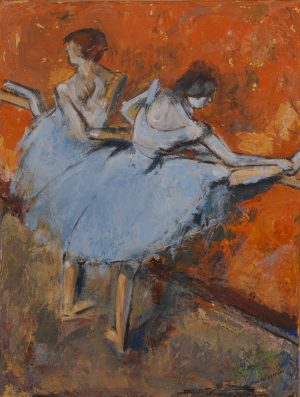 Dancers At The Bar By Jacob T. Secrest