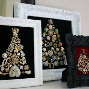 Mini Jewelry Christmas Tree