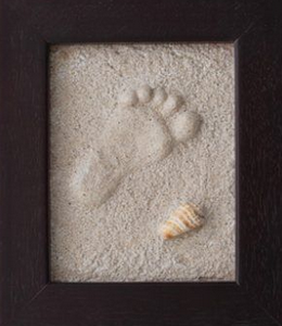 Mini Kids Feet on Sand