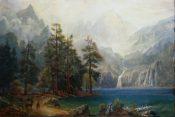 Mountain Lake By Jerry Valentine Malzahn