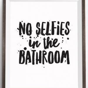 No Selfies Reminder
