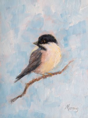Chickadee By Elaine Monnig
