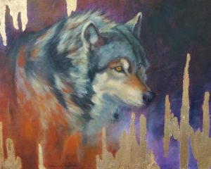 Gold River Timber Wolf By Charice Cooper
