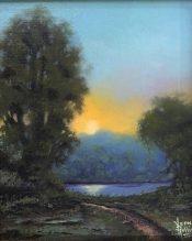 Texoma Sundown By Vern Rollin III