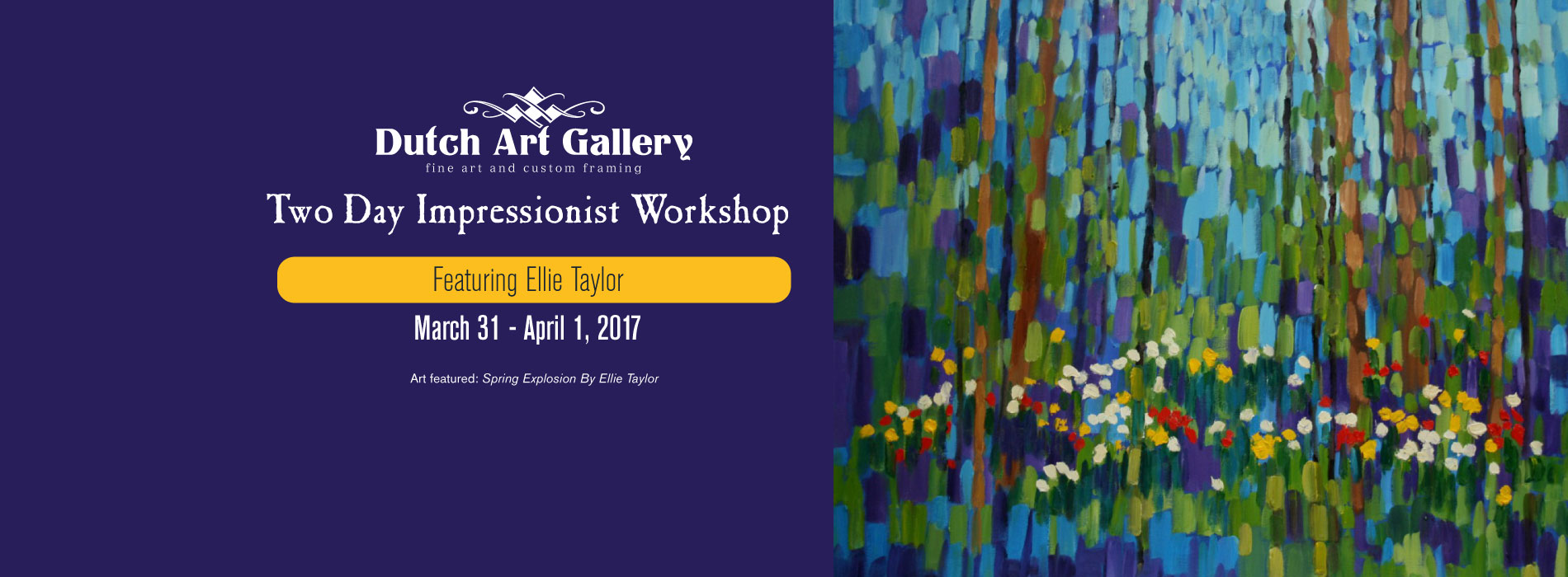 Two Day Impressionist Workshop | Featuring Ellie Taylor