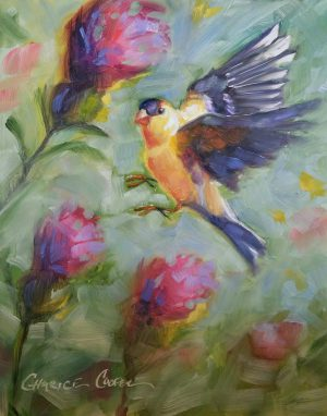 Finch and Florals By Charice Cooper