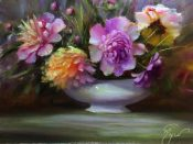 Wild Peonies By Pat Meyer