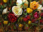 Wild Rose Garden By Pat Meyer