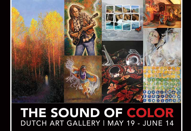The Sound of Color Juried Show Opening