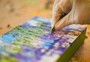 Artist Demo | Lisa Reed @ Dutch Art Gallery | Dallas | Texas | United States