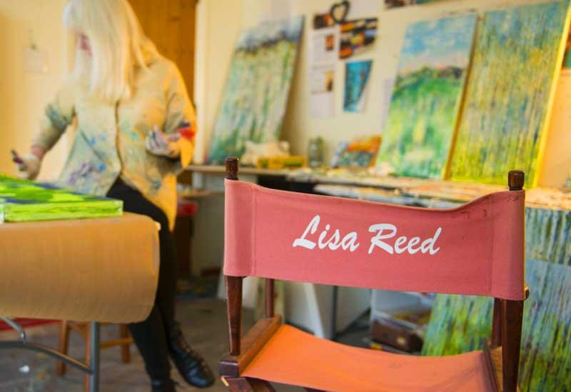 July First Thursday Event | Meet the Artist | Lisa Reed
