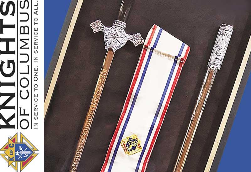 Remembrance: Knights of Columbus Regalia