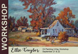 Ellie Taylor 2-Day Oil Painting Workshop @ Dutch Art Gallery | Dallas | Texas | United States