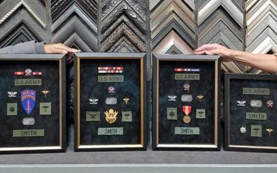 FRAMING PROJECT: Army Medals