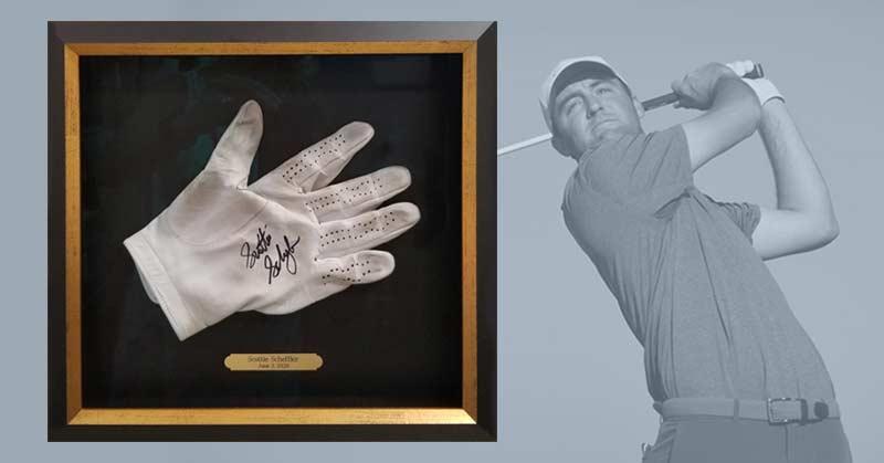 FRAMING PROJECT: Scheffler Glove