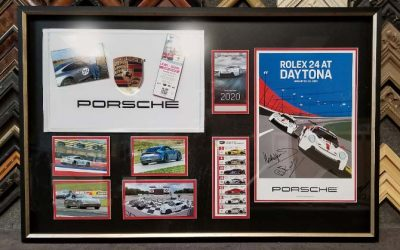 FRAMING PROJECT: Porsche Love