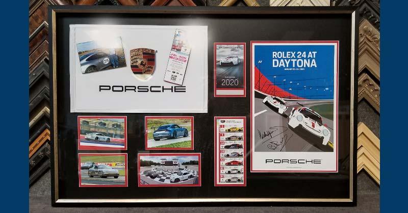 FRAMING PROJECT: Porsche Love