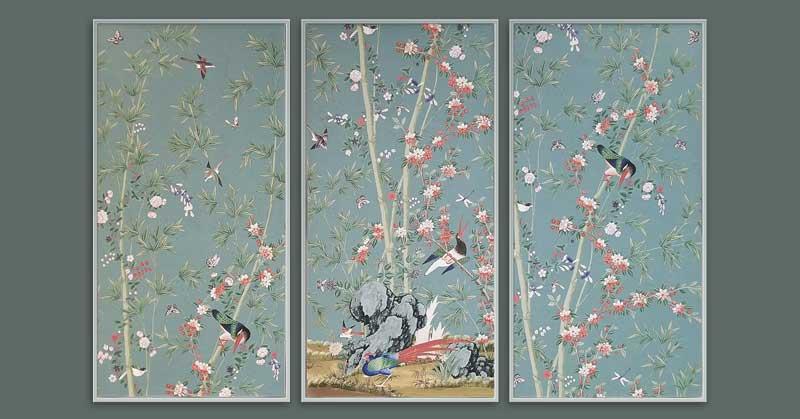 FRAMING PROJECT: Wallpaper Panels