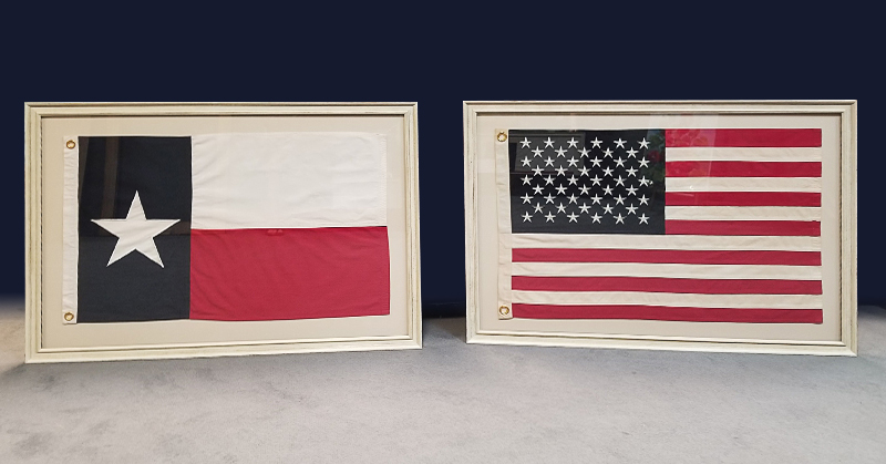 FRAMING PROJECT: Red, White and Blue