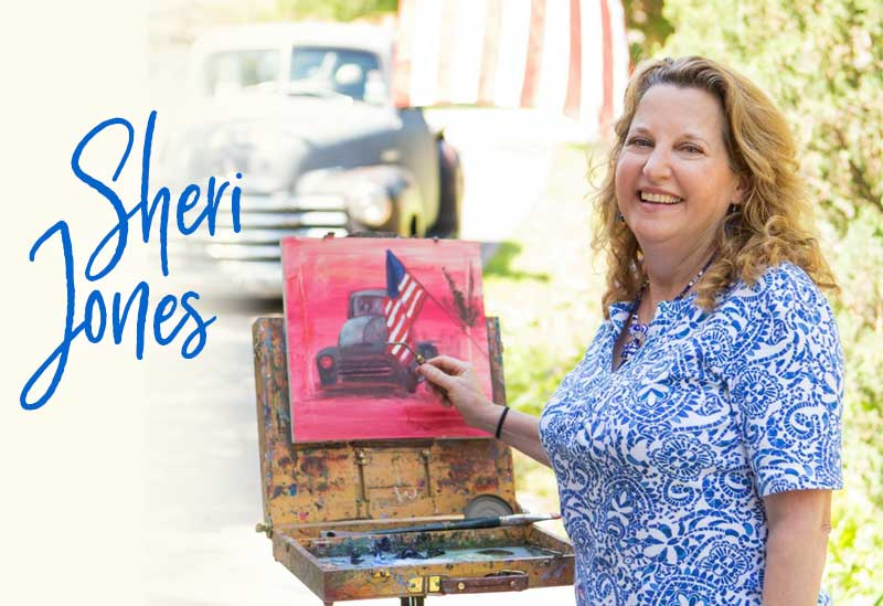 First Thursday Event-June | Meet the Artist | Sheri Jones
