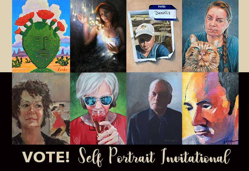 VOTE | Self Portrait Invitational | September 2018