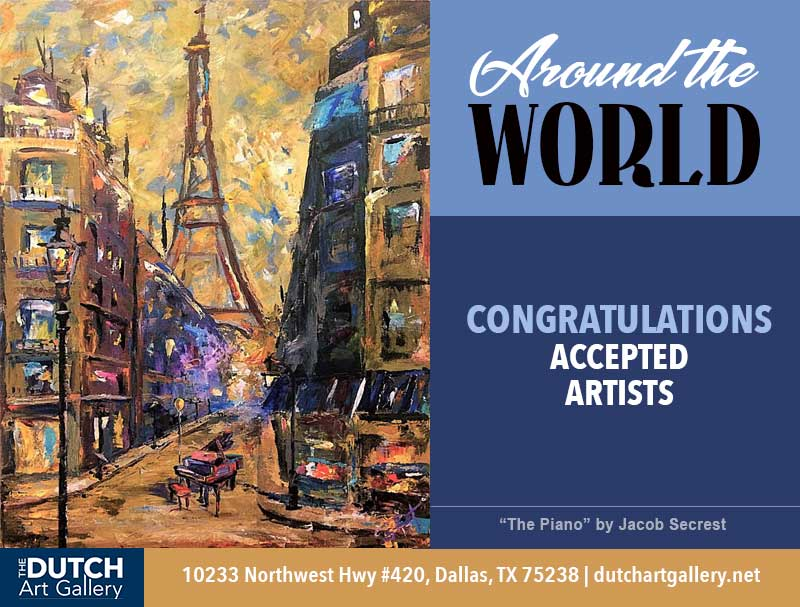 Around the World Juried Show Accepted Artist List