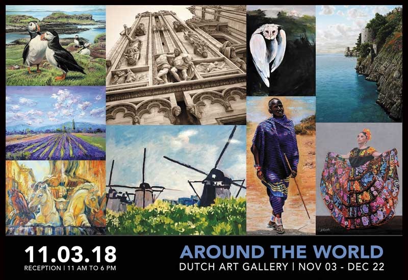 SNEAK PEEK | Around The World Juried Show