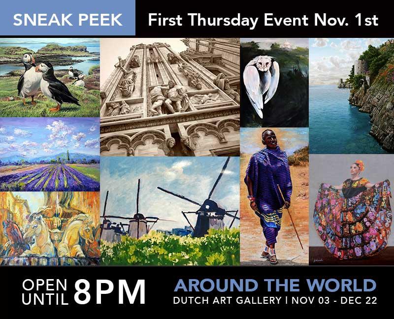 Juried Show Sneak Peek | First Thursday Event