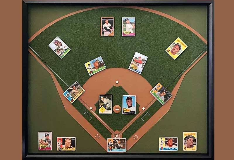 Take Me Out to The Ball Game: Baseball Cards