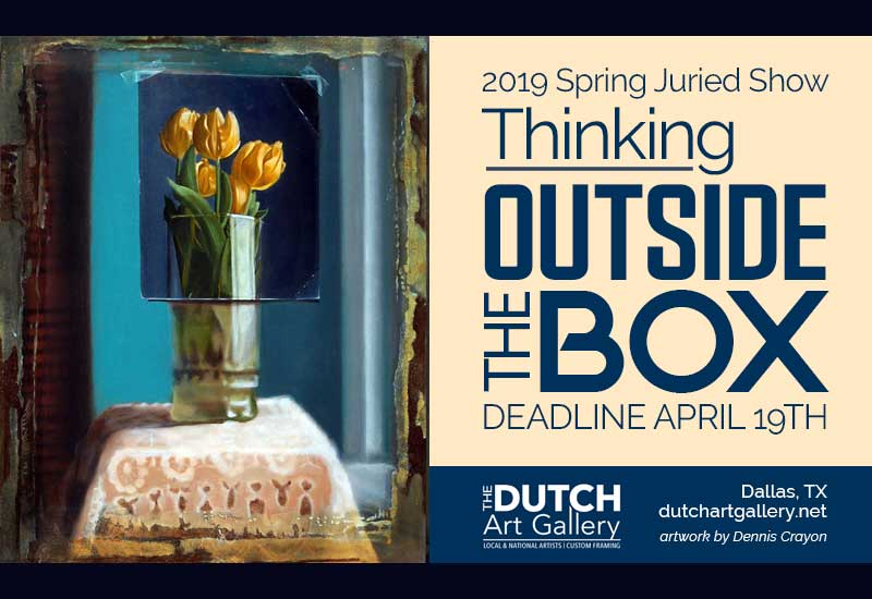 Thinking Outside the Box | Call for Entry | Deadline April 19th | Midnight (CST)
