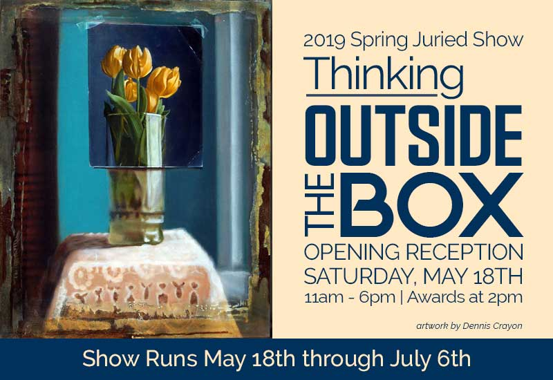 Thinking Outside the Box Juried Show Opening