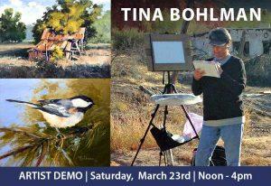 Artist Demo | Tina Bohlman