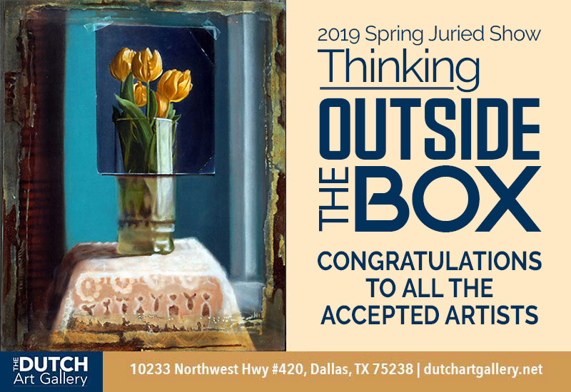 Thinking Outside the Box Juried Show Accepted Artist List