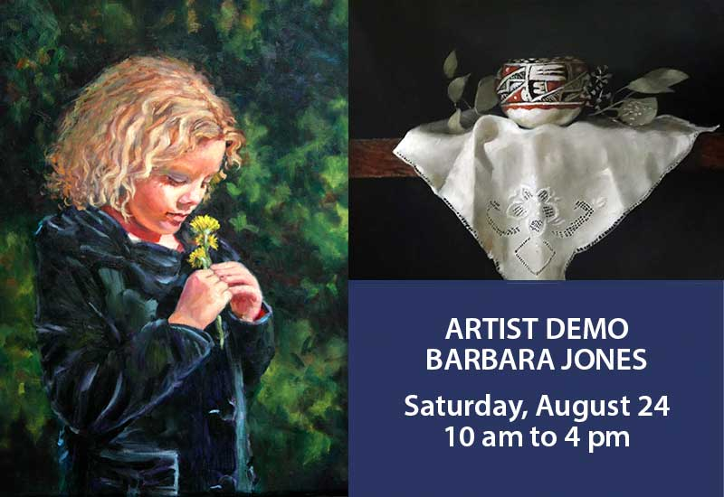 Artist Demo | Barbara Jones | Portraits
