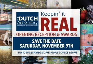 Keepin' It Real | Opening Reception | SAVE THE DATE @ Dutch Art Gallery | Dallas | Texas | United States