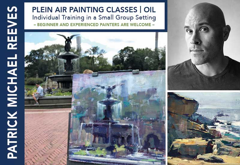 Plein Air Oil Painting Classes by Patrick Michael Reeves | Dallas Area Painting Locations