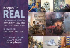 Keepin' It Real | Opening Reception @ Dutch Art Gallery | Dallas | Texas | United States