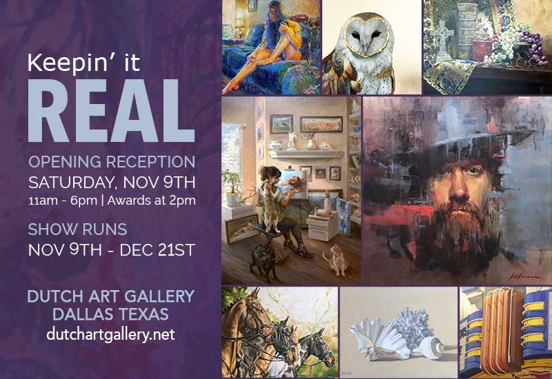 KEEPIN' IT REAL Juried Show Opening Reception and Awards
