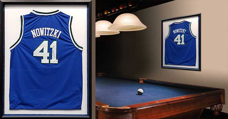 FRAMING PROJECT: Nowitzki Jersey