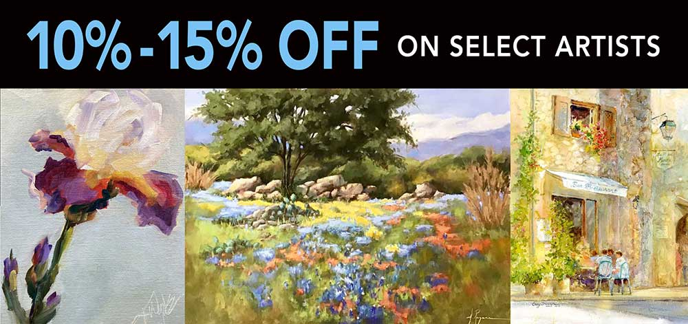 SALE ON ORIGINAL ART FROM SELECT ARTISTS