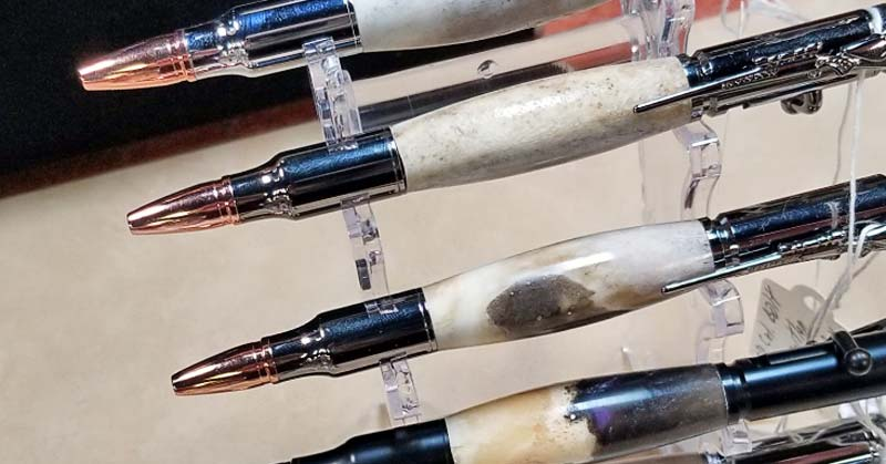 Custom Hand-Turned Pens by Bruce and Myra Feagin