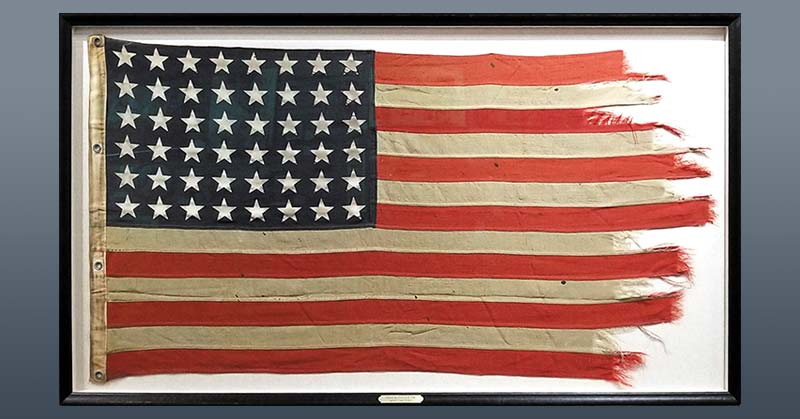 FRAMING PROJECT: 48-Star American Flag