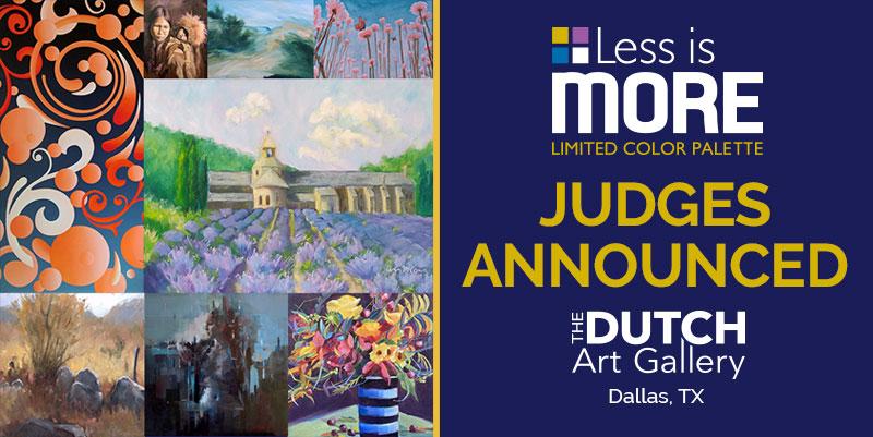 LESS IS MORE JURIED SHOW ANNOUNCES JUDGES