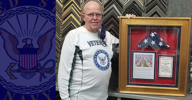 FRAMING PROJECT: Thank you for your service