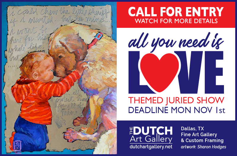 CALL FOR ENTRY | ALL YOU NEED IS LOVE